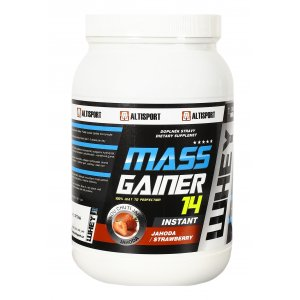 ALTISPORT DS MASS GAINER 14 1kg JAHODA