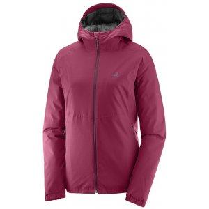 Dámská sportovní bunda SALOMON ESSENTIAL INSULATED JKT W L39692700 BEET RED 7d330e0e00