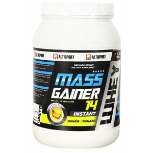 ALTISPORT DS MASS GAINER 14 1kg BANÁN