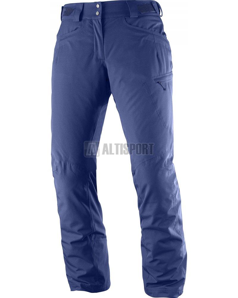Dámské zimní kalhoty SALOMON FANTASY PANT W L39694500 MEDIEVAL BLUE HEATHE d6a93fd5da