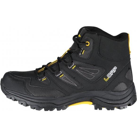 Pánské outdoorové boty LOAP MAGHERA HSM17146 ČERNOŽLUTÁ