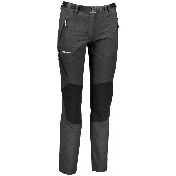 Dámské softshellové kalhoty HUSKY KLASS L ČERNÁ