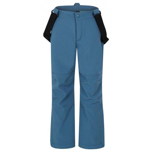 Dětské softshellové kalhoty LOAP CORKY L7115 MODRÁ