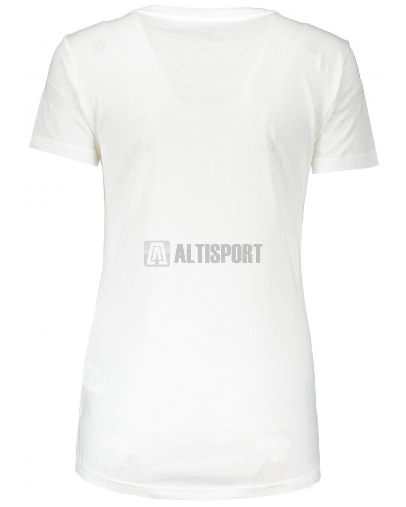 Dámské triko PUMA ATHLETIC TEE W 85014703 PUMA WHITE velikost  XS ... 9a0fae7368d