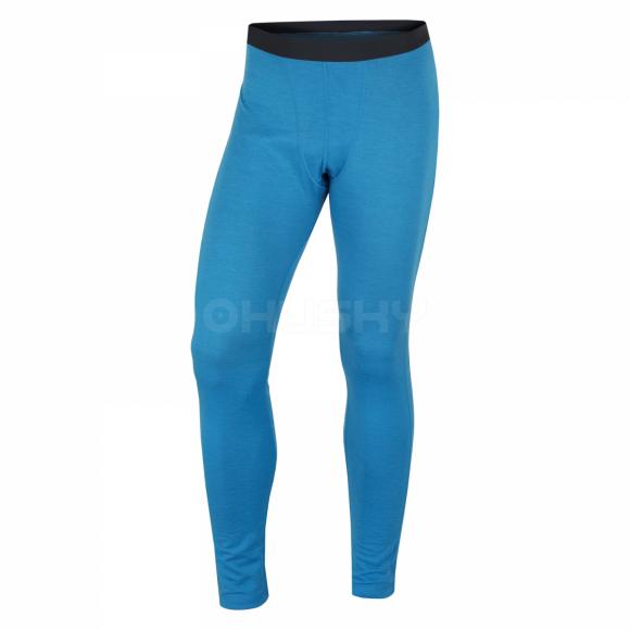 Pánské termo kalhoty HUSKY MERINO 100 M MODRÁ