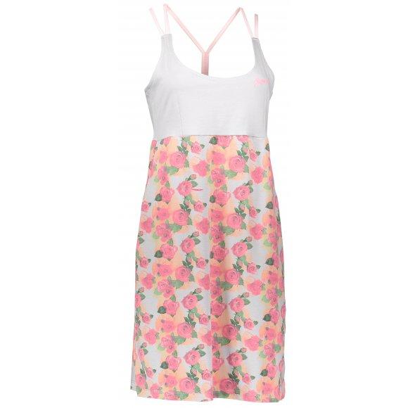 Dámské šaty ALPINE PRO PERENA 2 LSKL096 ŠEDORŮŽOVÁ