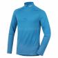 Pánské termo triko s dlouhým rukávem + zip HUSKY MERINO 100 M MODRÁ