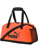 Sportovní taška PUMA PHASE SPORT BAG 07494223 SHOCKING ORANGE/PUMA BLACK