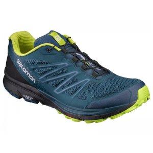 Pánské běžecké boty SALOMON SENSE MARIN REFLECTING POND BLACK LIME PUNCH 9d450a7aa9