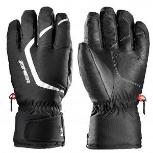 Pánské lyžařské rukavice ZANIER TUX.GTX BLACK WHITE da4c75b8e9