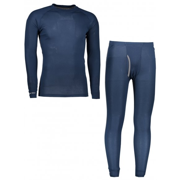 Akční set pánské termo triko s dlouhým rukávem + spodky SENSOR ORIGINAL ACTIVE SET 17200051 TMAVĚ MODRÁ