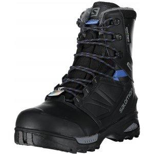 Dámské zimní boty SALOMON TOUNDRA PRO CSWP W -40°C PHANTOM BLACK AMPARO BLUE c27a09f8547