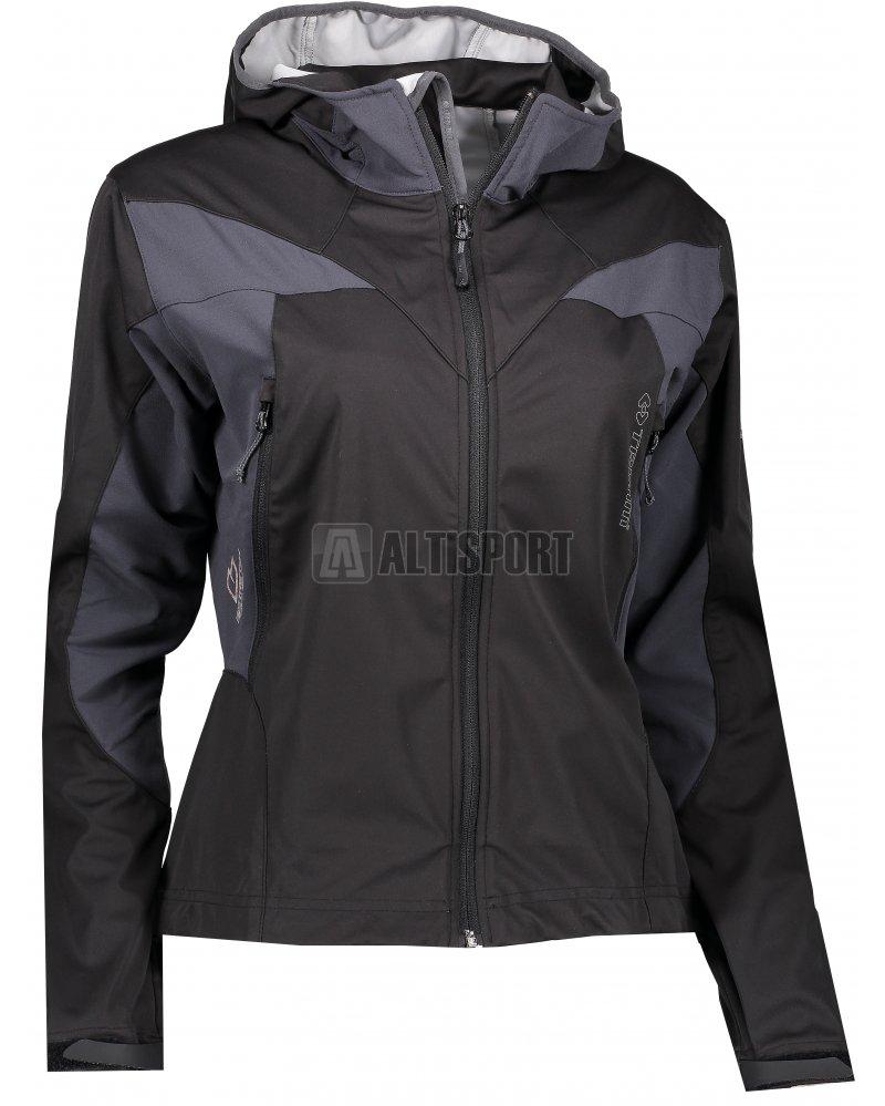 Dámská sportovní bunda TRIMM VENTURA BLACK GREY velikost  XS ... 6969ec52eab