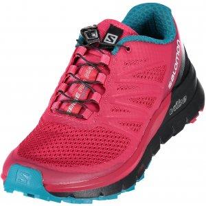 28ecc1a69d3 Dámské běžecké boty SALOMON SENSE PRO MAX W VIRTUAL PINK BLACK ENAMEL BLUE