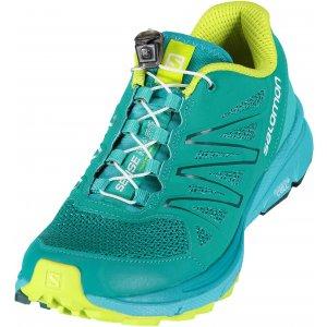 Dámské běžecké boty SALOMON SENSE MARIN W DEEP PEACO CERAMIC LIME PUNCH 840e398050