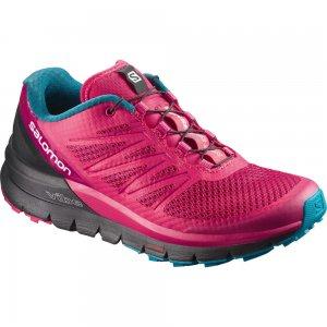 Dámské běžecké boty SALOMON SENSE PRO MAX W VIRTUAL PINK BLACK ENAMEL BLUE 8e5d0103ff