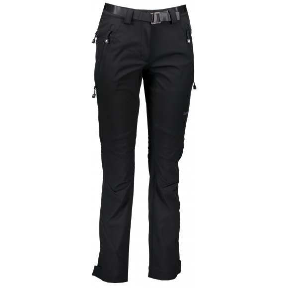 Dámské softshellové kalhoty HUSKY KRESI L ČERNÁ