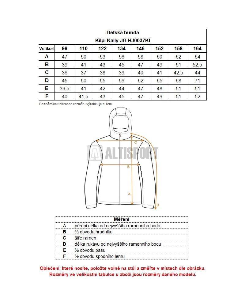 Dívčí zimní bunda KILPI KALLY-JG HJ0037KI TMAVĚ MODRÁ velikost  164 ... d752090f7b