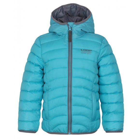 Dětská zimní bunda LOAP UDATEL L7148 MODRÁ