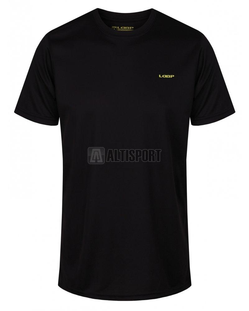 b243fa69205 Pánské tričko s krátkým rukávem LOAP MESSI OLM1819 ČERNÁ velikost  S ...