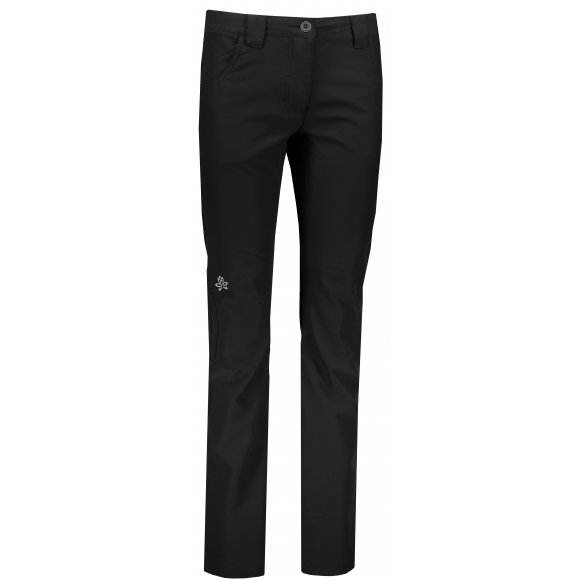 Dámské softshellové kalhoty ALPINE PRO LISSA LPAL275 ČERNÁ