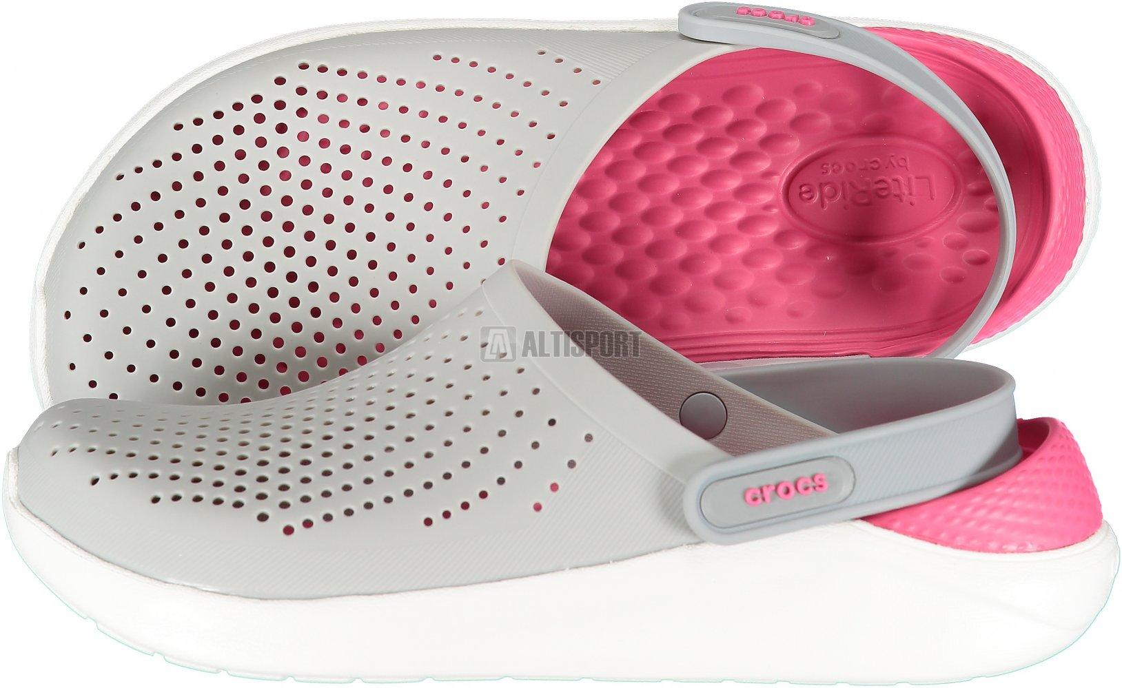 Dámské pantofle CROCS LITERIDE CLOG 204592-115 PEARL WHITE WHITE ... fd2744ba89