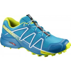 Pánské běžecké boty SALOMON SPEEDCROSS 4 L40074600 HAWAIIAN SURF ACID LIME  WHITE efc0376f24