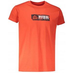 Pánské tričko NORDBLANC BEELINE NBSMT6809 ZRALÁ ČERVENÁ