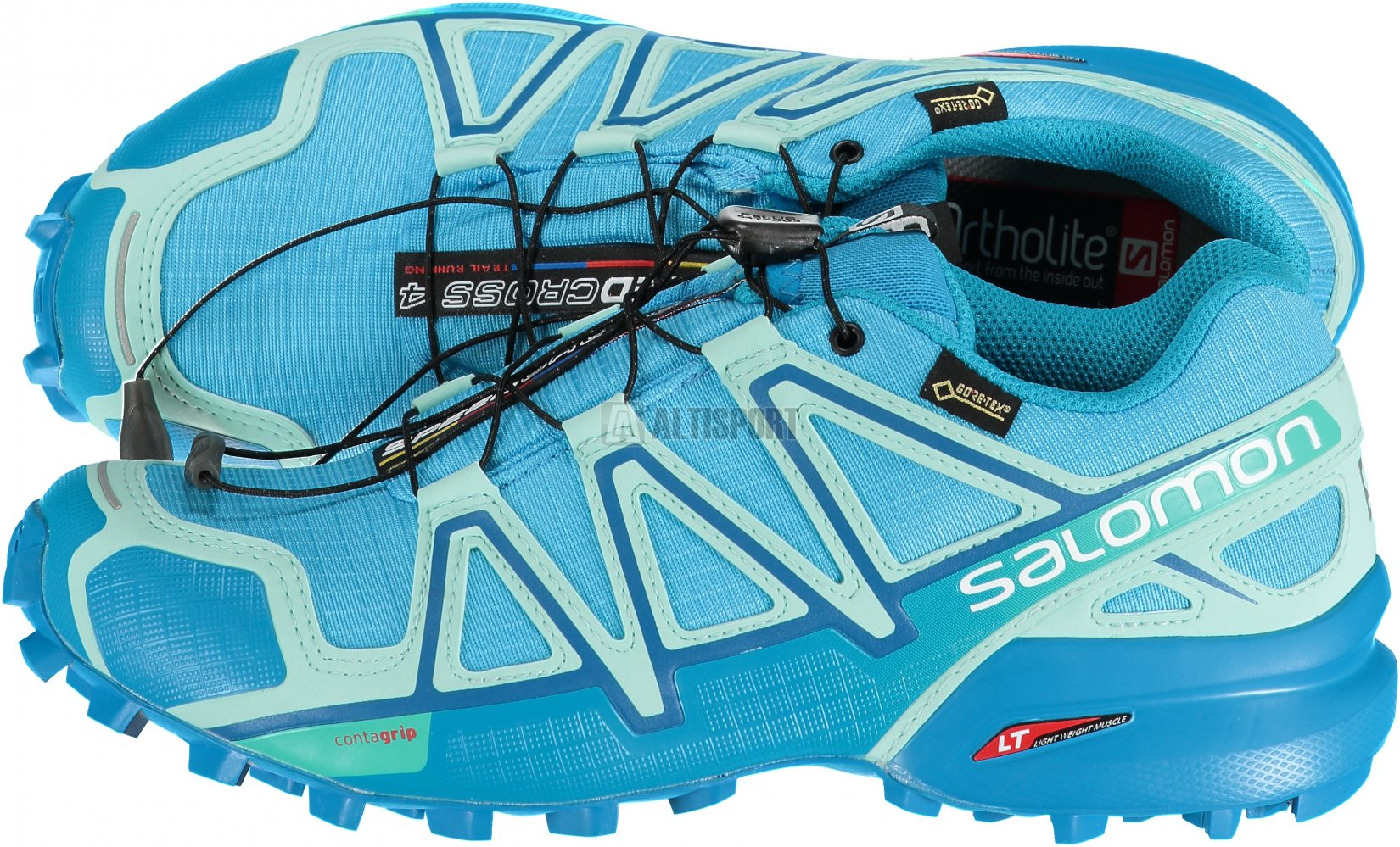 c9756f35c7a Dámské běžecké boty SALOMON SPEEDCROSS 4 GTX® W L40099900 AQUARIUS BEACH  GLASS HAWAIIAN