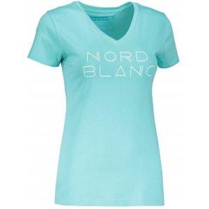 Dámské tričko NORDBLANC HUMBLE NBSLT6747 MODRÁ AGÁVE