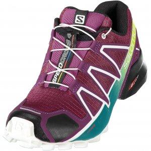 Dámské běžecké boty SALOMON SPEEDCROSS 4 W L40136100 DARK PURPLE WHITE DEEP  LAKE e29cc8be96