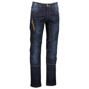 Pánské kalhoty ALPINE PRO CHIZOB MPAL242 TMAVĚ MODRÁ