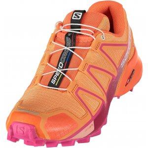 Dámské běžecké boty SALOMON SPEEDCROSS 4 W L40098500 BIRD OF  PARADISE NASTURTIUM PINK YARROW 3f8a0b3149