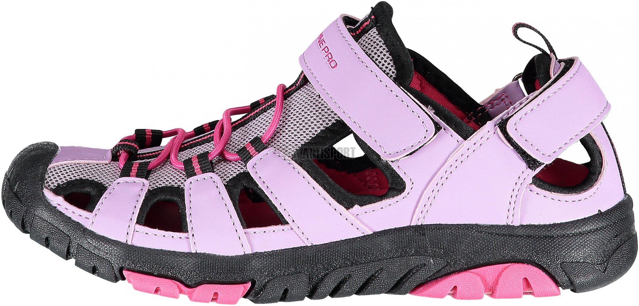 26cc0bb00012 Dětské sandále ALPINE PRO DISLO KBTL167 RŮŽOVÁ velikost  EU 28 ...