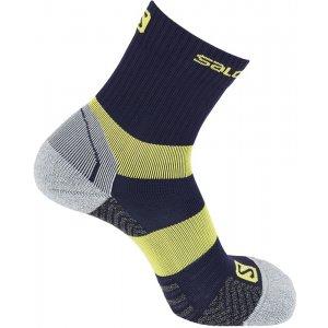 Ponožky SALOMON QUEST MID L40275400 MEDIEVAL BLUE LIMELIGHT bbd4720cc2