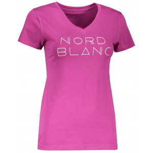 Dámské tričko NORDBLANC HUMBLE NBSLT6747 PURPUROVÁ ORCHIDEJ
