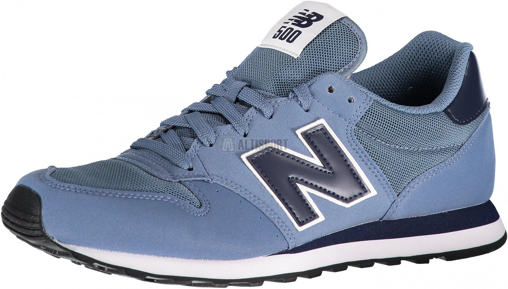 Pánská volnočasová obuv NEW BALANCE GM500BBN DUSTY BLUE velikost  EU ... 497e297cb2