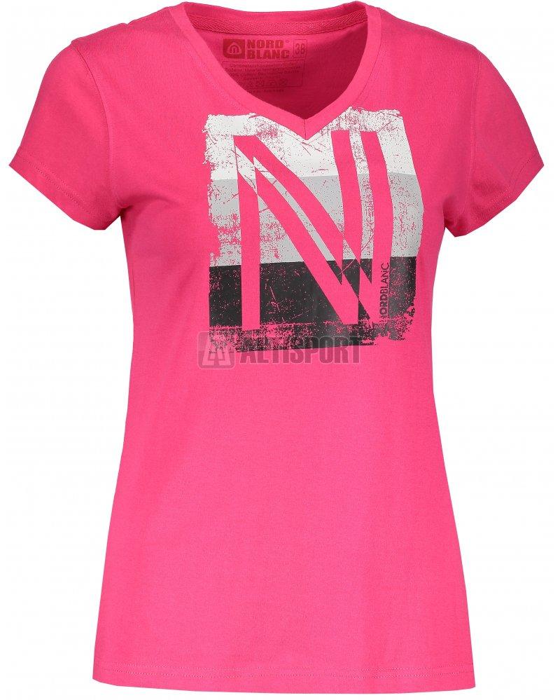 775114a2638 Dámské tričko NORDBLANC COATING NBSLT6739 RŮŽOVÁ velikost  40 ...
