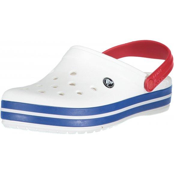 Pánské pantofle CROCS CROCBAND CLOG 11016-11I WHITE/BLUE JEAN