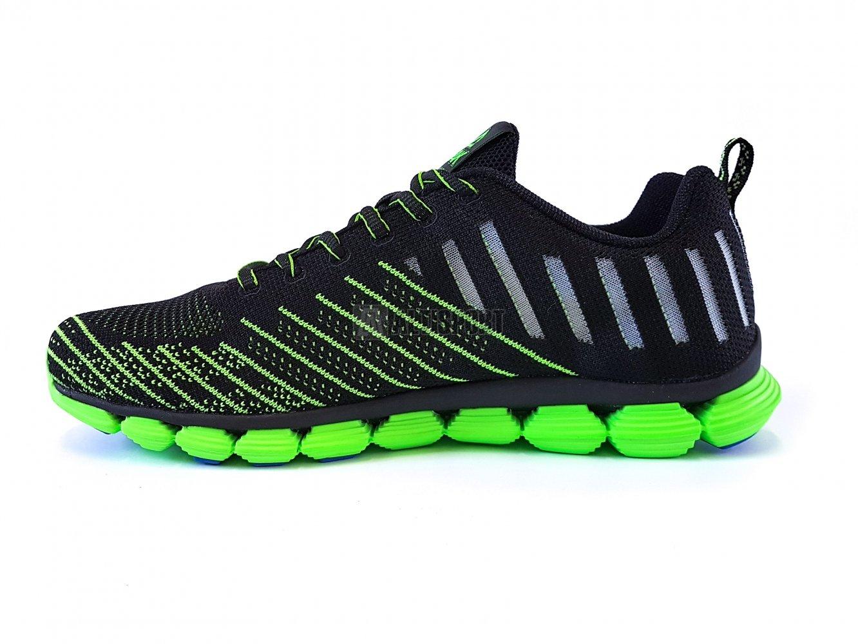 Pánská běžecká obuv PEAK RUNNING SHOES E72057H ČERNÁ FLUORESCENTNÍ ZELENÁ 29da04c754