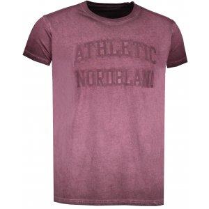 Pánské tričko NORDBLANC RIVALRY NBSMT6808 ZAPRÁŠENÁ VÍNOVÁ