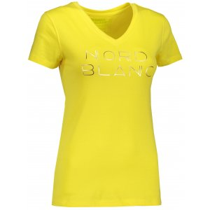 Dámské tričko NORDBLANC HUMBLE NBSLT6747 ŽLUTÁ