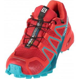 f4ff11c78d6 Dámské běžecké boty SALOMON SPEEDCROSS 4 GTX® W L39855100 BARBADOS  CHERRY POPPY RED DEEP LAGOON