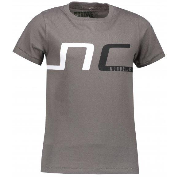 Chlapecké tričko NORDBLANC HAUL NBSKT6824S ŠEDÝ KOUŘ