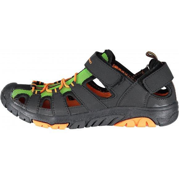 Dětské sandále ALPINE PRO DISLO KBTL167 ČERNÁ