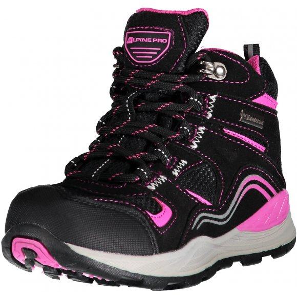 Dětská turistická obuv ALPINE PRO SIBEAL KBTM159 RŮŽOVÁ
