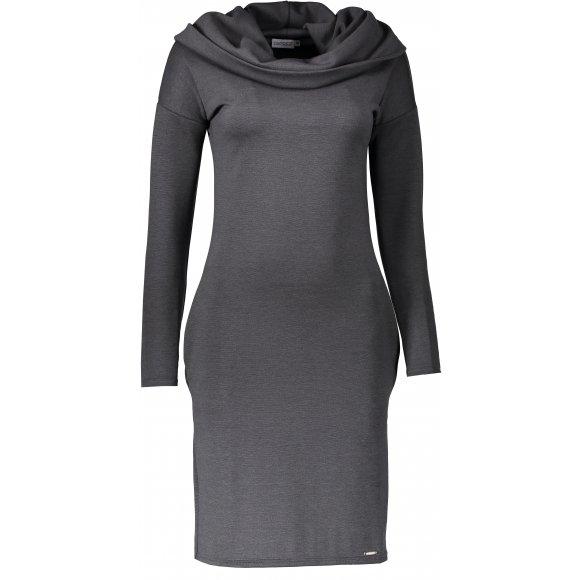 Dámské šaty NUMOCO A131-3 ŠEDÁ