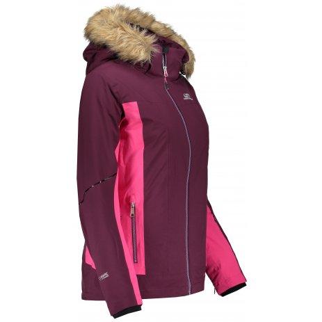 Dámská zimní bunda HANNAH MARYAM GRAPE WINE/CABARET