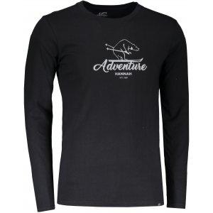 Pánské tričko s dlouhým rukávem HANNAH SKILL ANTHRACITE PRINT 2 ... a9ae4fb55a