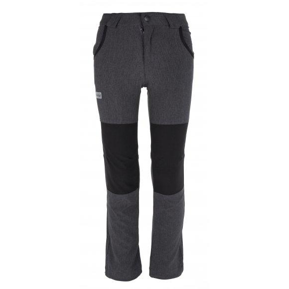 Chlapecké outdorové kalhoty KILPI KARIDO-JB IJ0054KI TMAVĚ ŠEDÁ